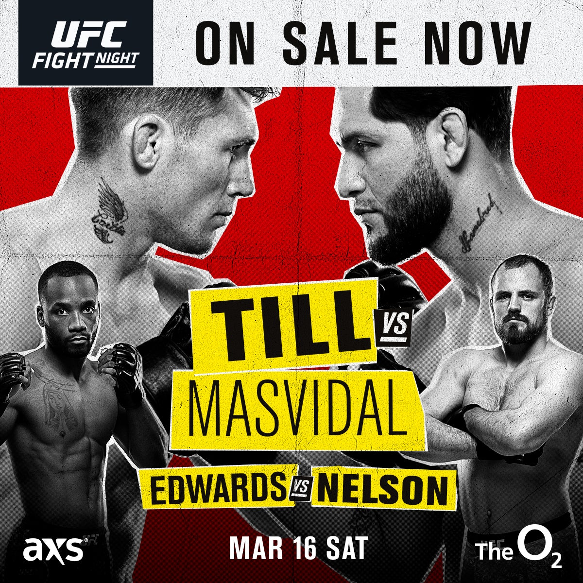More Info for UFC FIGHT NIGHT LONDON