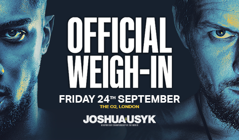 More Info for Joshua vs Usyk: Official Weigh-in