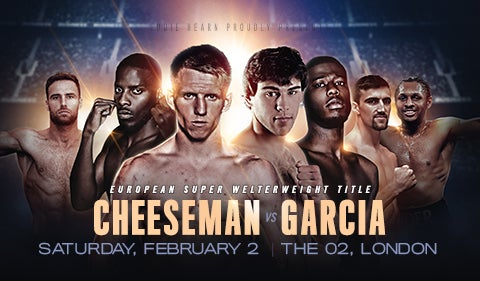 More Info for A Night of Championship Boxing : Cheeseman v Garcia