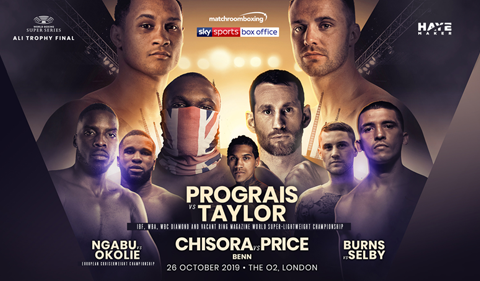 More Info for Matchroom Boxing present World Championship Boxing