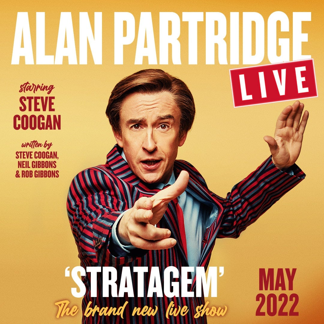 More Info for Alan Partridge Live