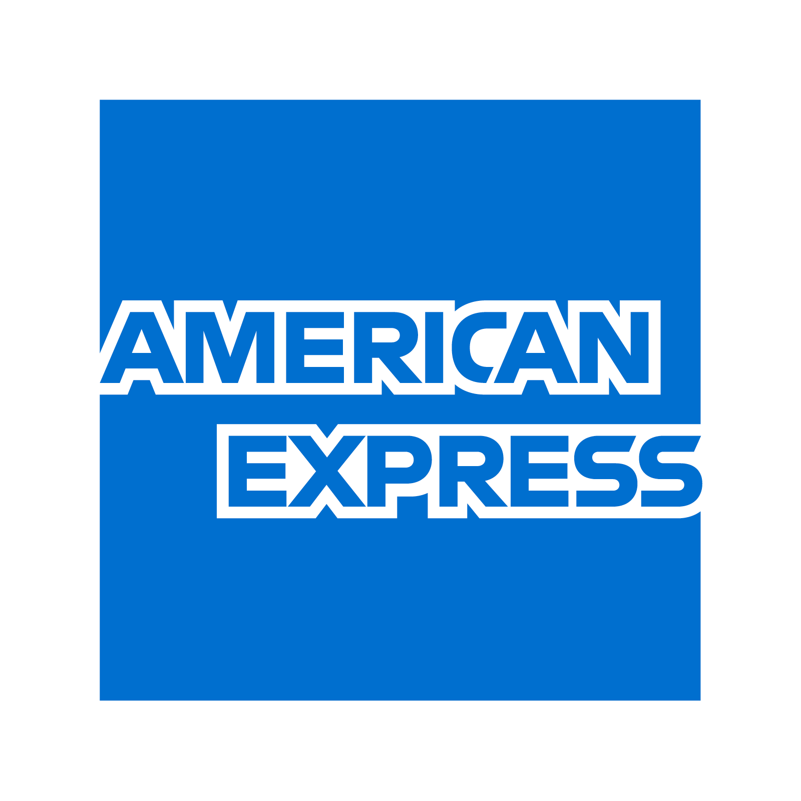 Amex Rebrand Blue Box