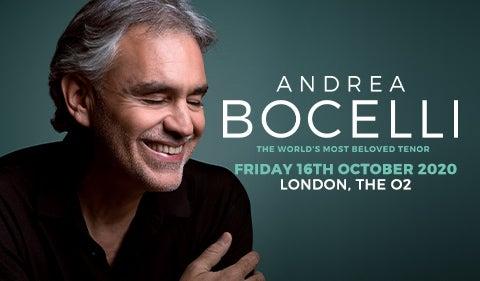 More Info for Andrea Bocelli