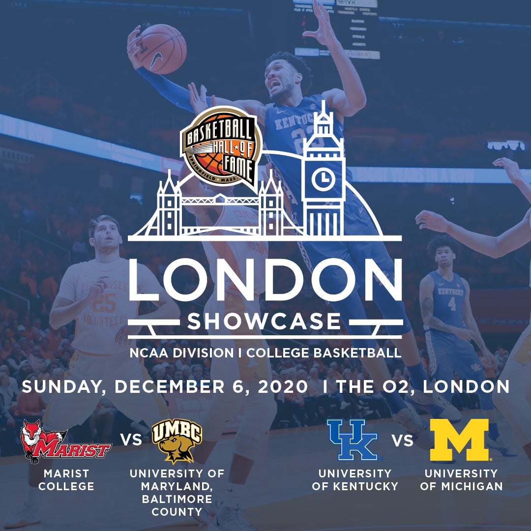 More Info for Basketball Hall of Fame London Showcase