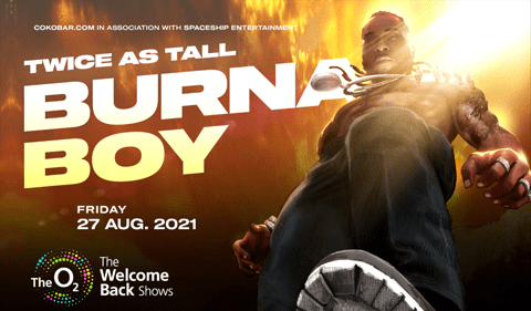 More Info for Burna Boy Twice As Tall