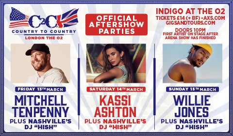 More Info for C2C Official Aftershow Parties