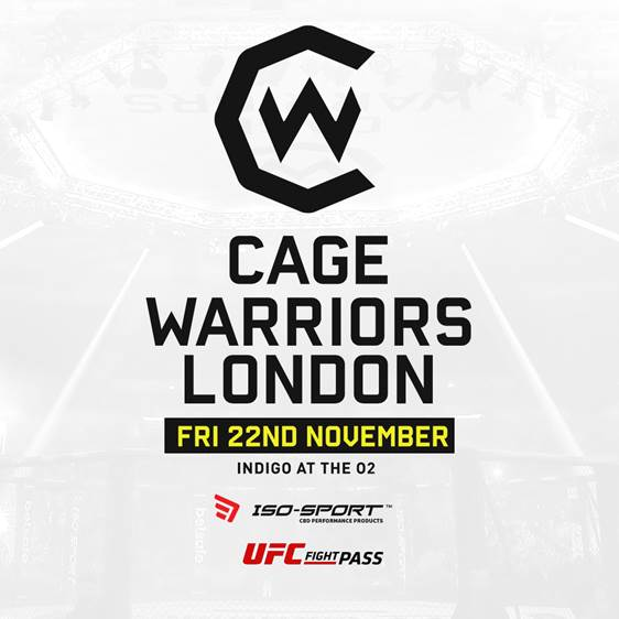 More Info for Cage Warriors: London