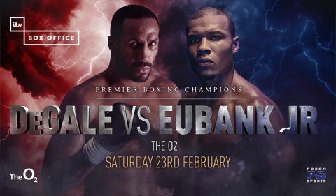 More Info for James DeGale v Chris Eubank Jr
