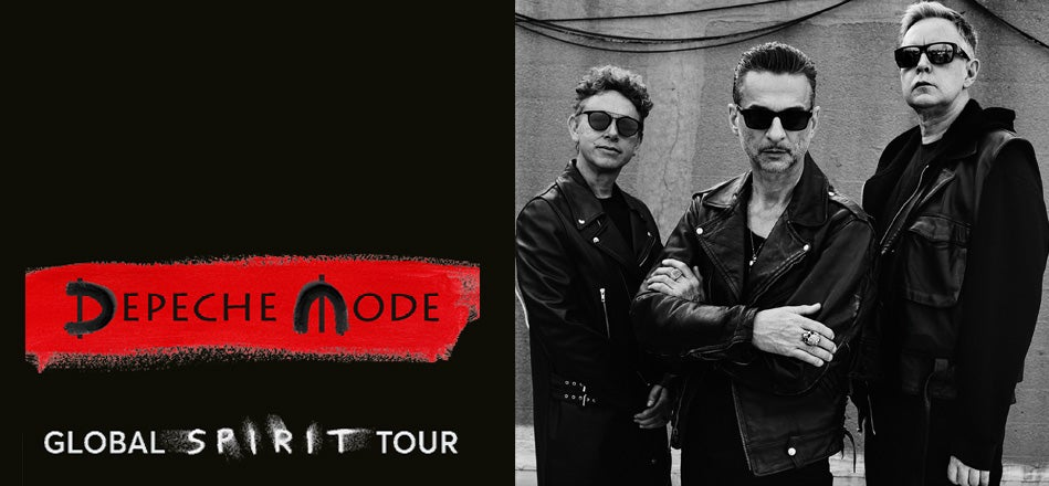 depeche mode the o2. Black Bedroom Furniture Sets. Home Design Ideas