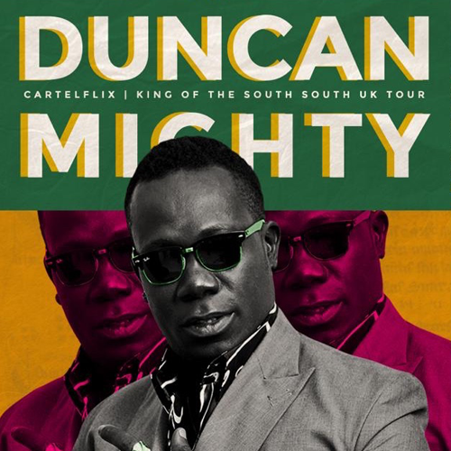 More Info for Duncan Mighty Live In London