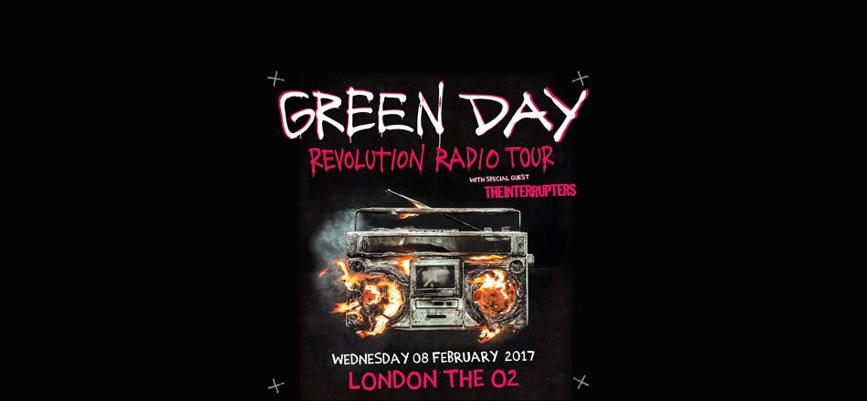 green day tickets london the o2. Black Bedroom Furniture Sets. Home Design Ideas