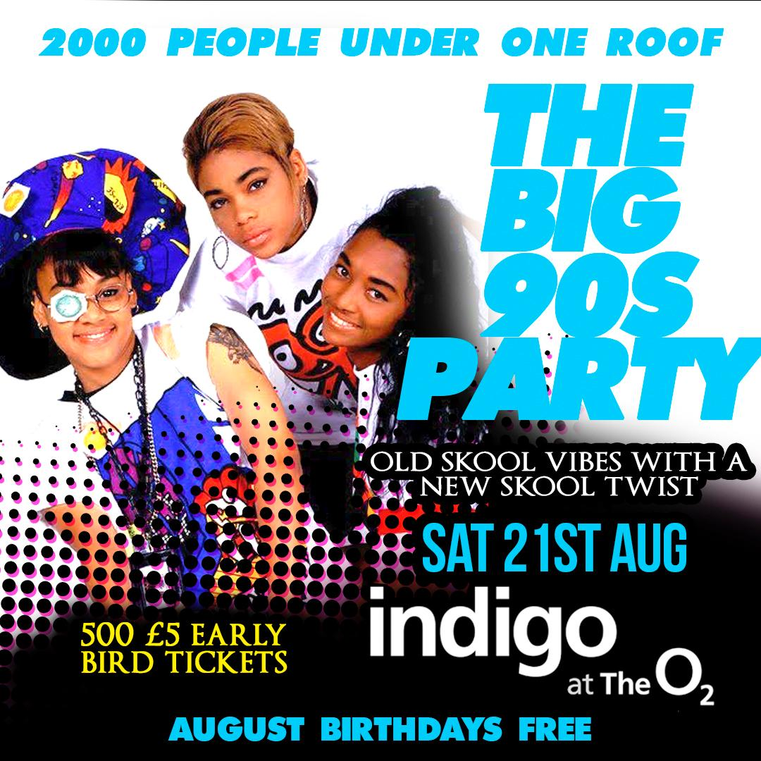More Info for The Big 90's Party