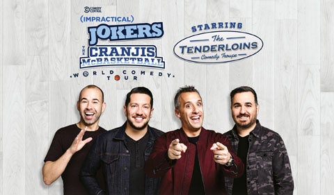 "More Info for Comedy Central Impractical Jokers ""The Cranjis McBasketball World Comedy Tour"" Starring The Tenderloins"