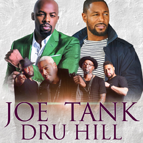 More Info for Joe, Tank & Dru Hill