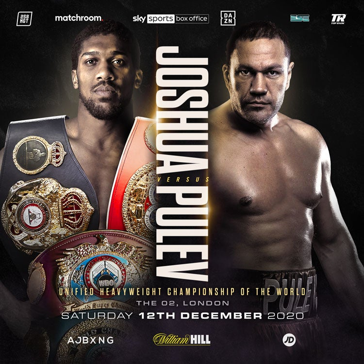 More Info for Anthony Joshua v Kubrat Pulev