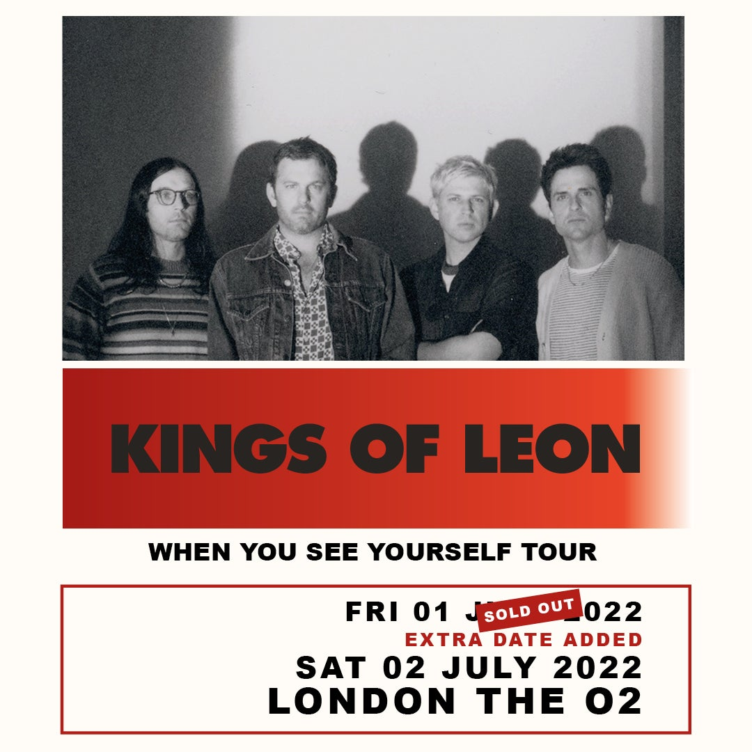 More Info for Kings Of Leon - new date added