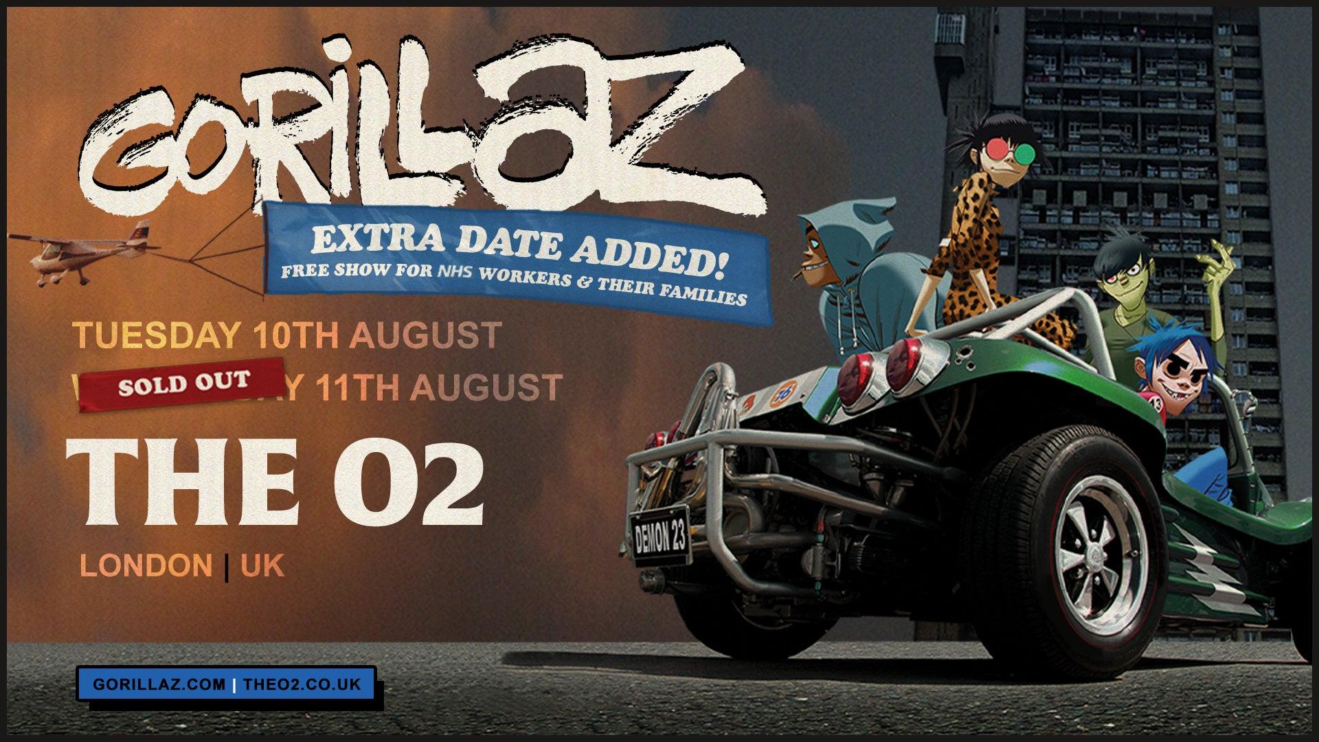 More Info for Gorillaz