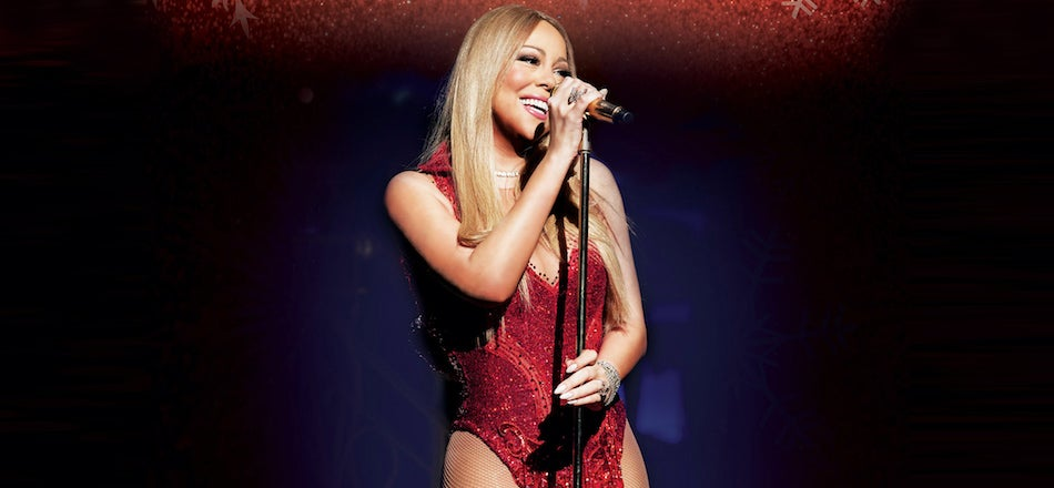 mariah carey the o2 - Mariah Carey All I Want For Christmas Live