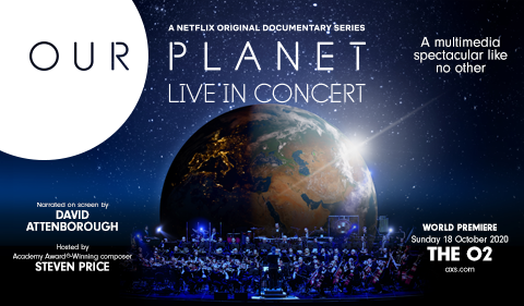 More Info for Our Planet Live In Concert