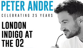 More Info for Peter Andre 'Celebrating 25 Years' Tour