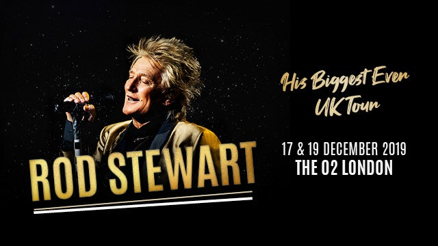 Rod Stewart Live In Concert The O2
