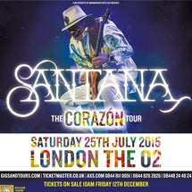 Santana Tickets Small