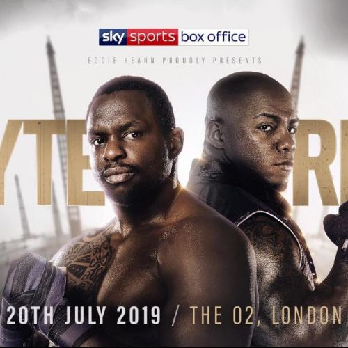 More Info for Matchroom boxing present… Whyte v Rivas