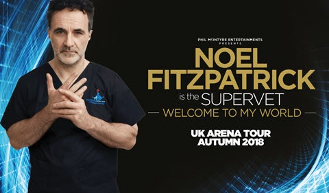 More Info for Noel Fitzpatrick is the Supervet