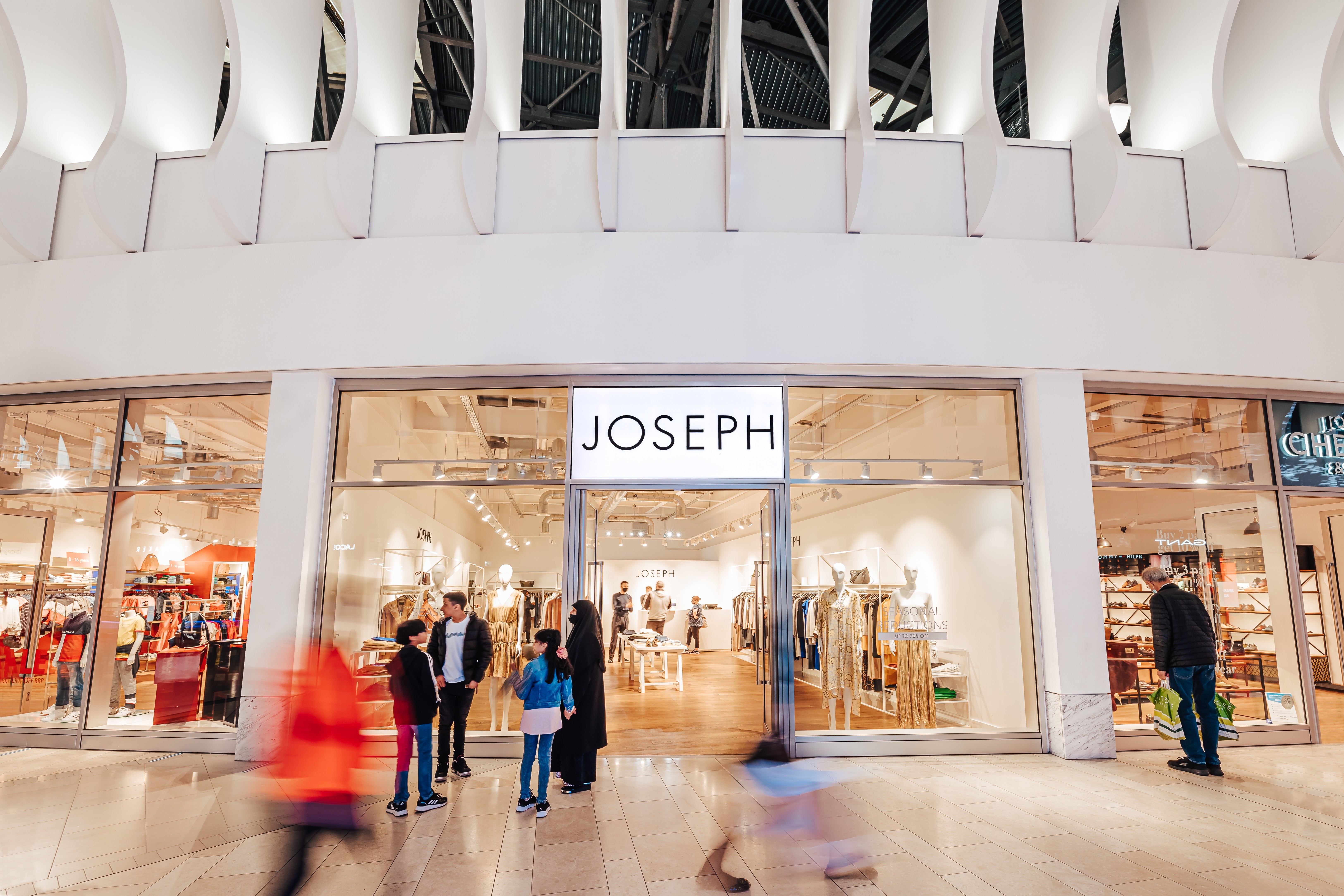 Luxury British fashion brand JOSEPH opens at Icon Outlet