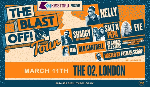 More Info for KISSTORY presents The Blast Off! Tour