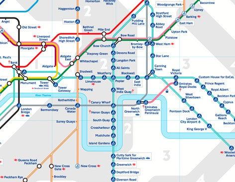 Map Deboomfotografie - 02 london map