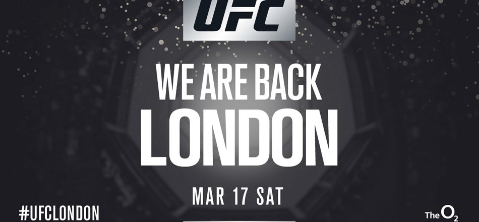 UFC Fight Night London Tickets London | The O2