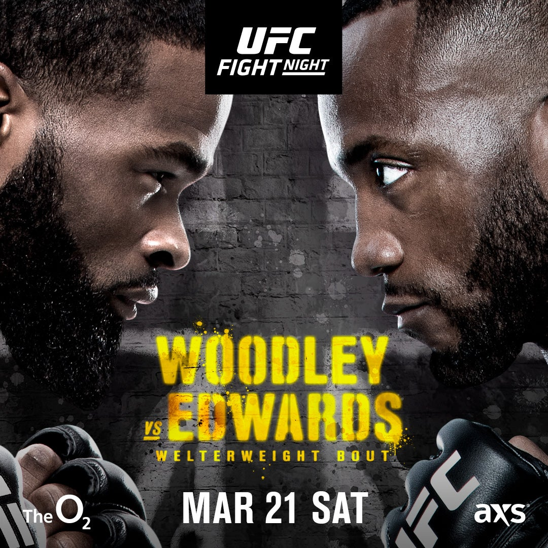 More Info for UFC FIGHT NIGHT: Woodley vs. Edwards