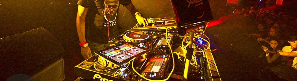Building Six DJ deck The O2