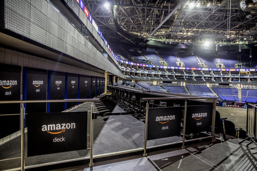 The Amazon Deck The O2