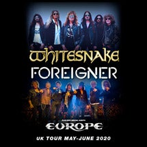 More Info for Whitesnake, Foreigner + very special guests Europe