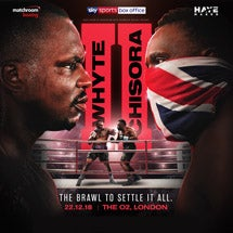 More Info for Matchroom boxing present Whyte V Chisora II