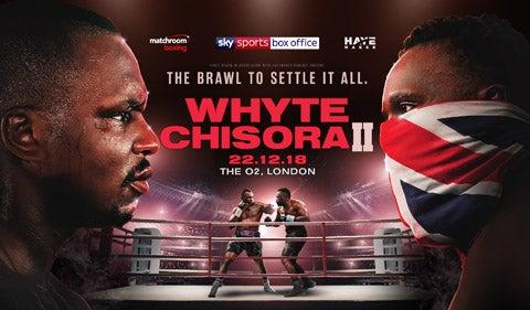 Matchroom boxing present Whyte V Chisora II | The O2