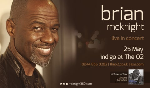 More Info for Brian McKnight