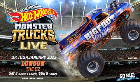 More Info for Hot Wheels Monster Trucks Live