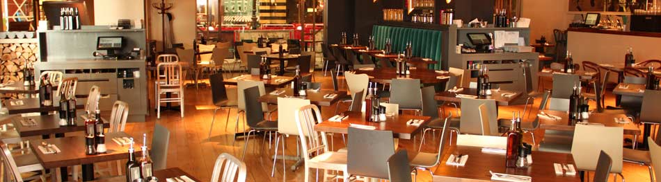 Zizi restaurant interior The o2 London