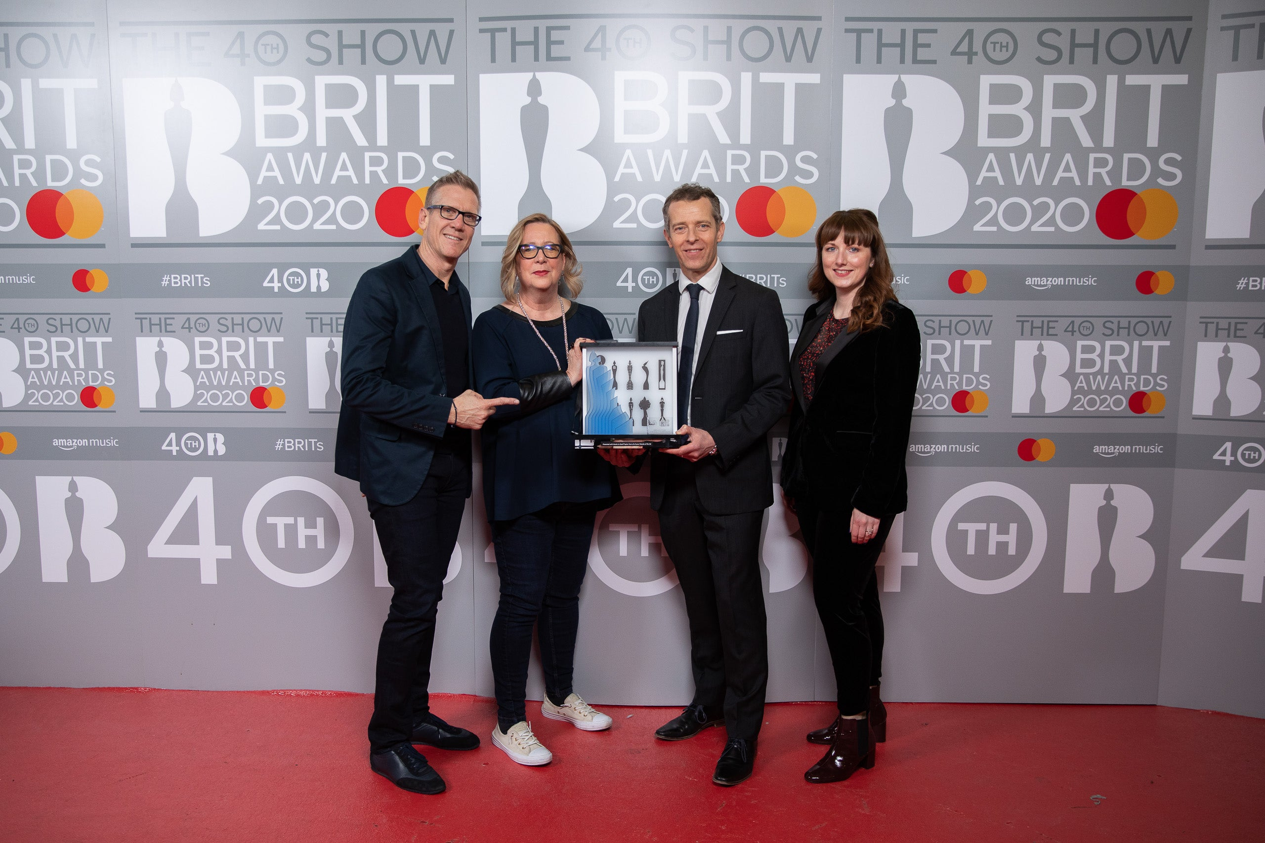 The BRITs celebrates 10 years at The O2