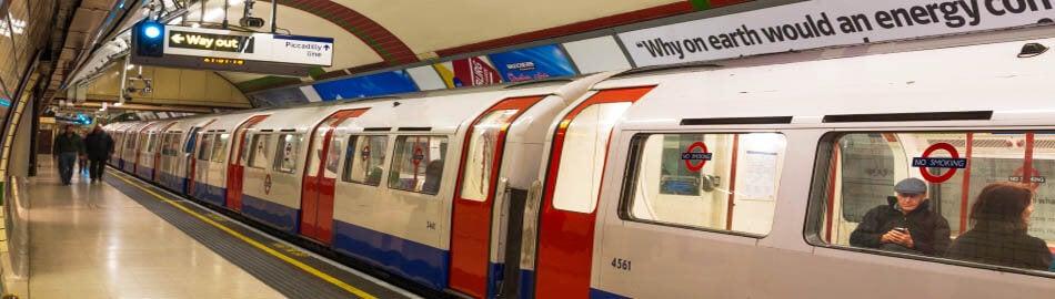 Tube And Train Getting Here The O2